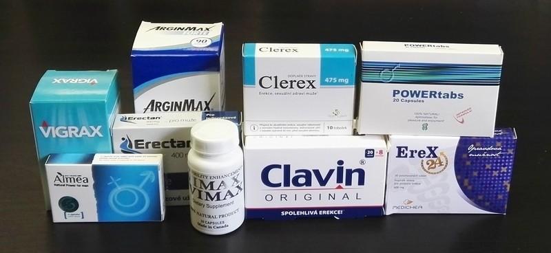termékek és készítmények az erekcióhoz
