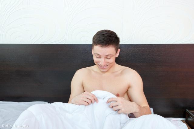 a reggeli erekció ritka)