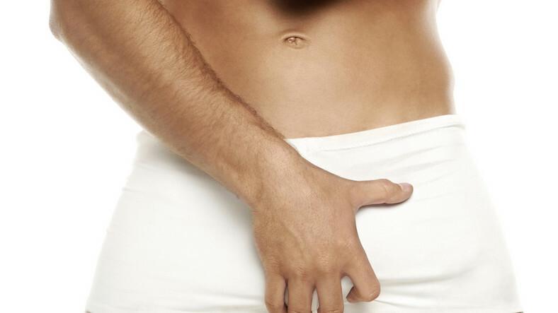 férfi tag az erekció előtt és után