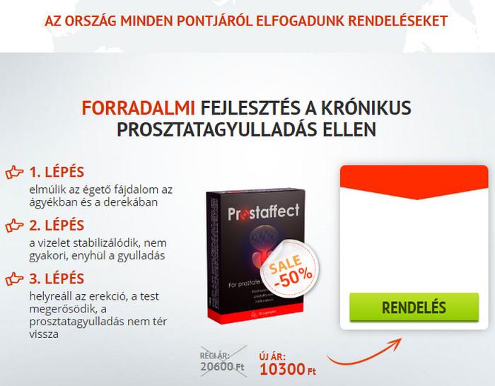 prosztatagyulladás az erekció hiánya)