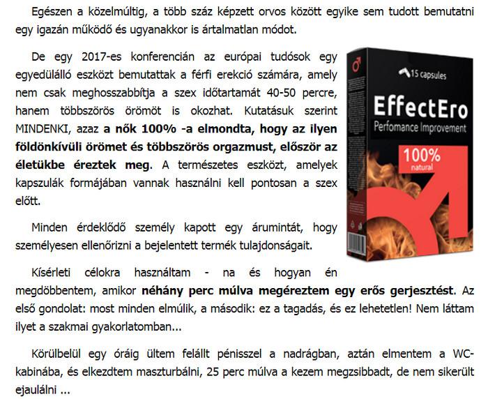 tabletták, amelyek növelik az erekció idejét)