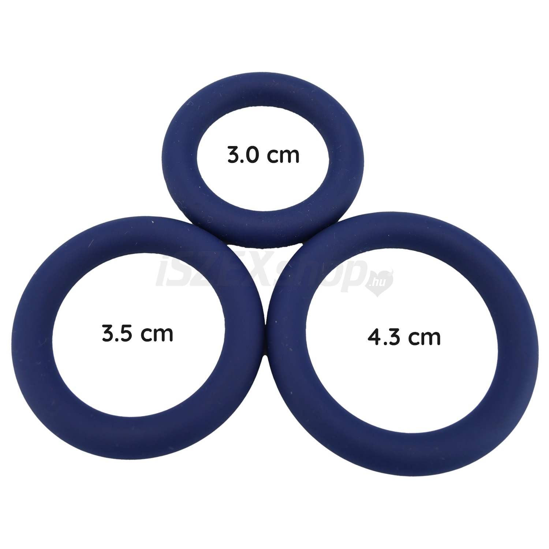három péniszgyűrű