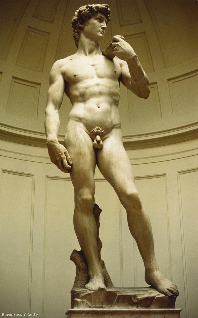 Hát ezért olyan kicsi a férfiszobrok pénisze!