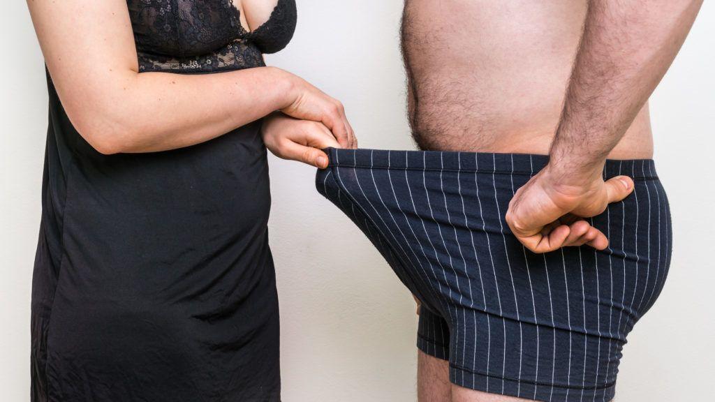 pénisz súlya az erekció során