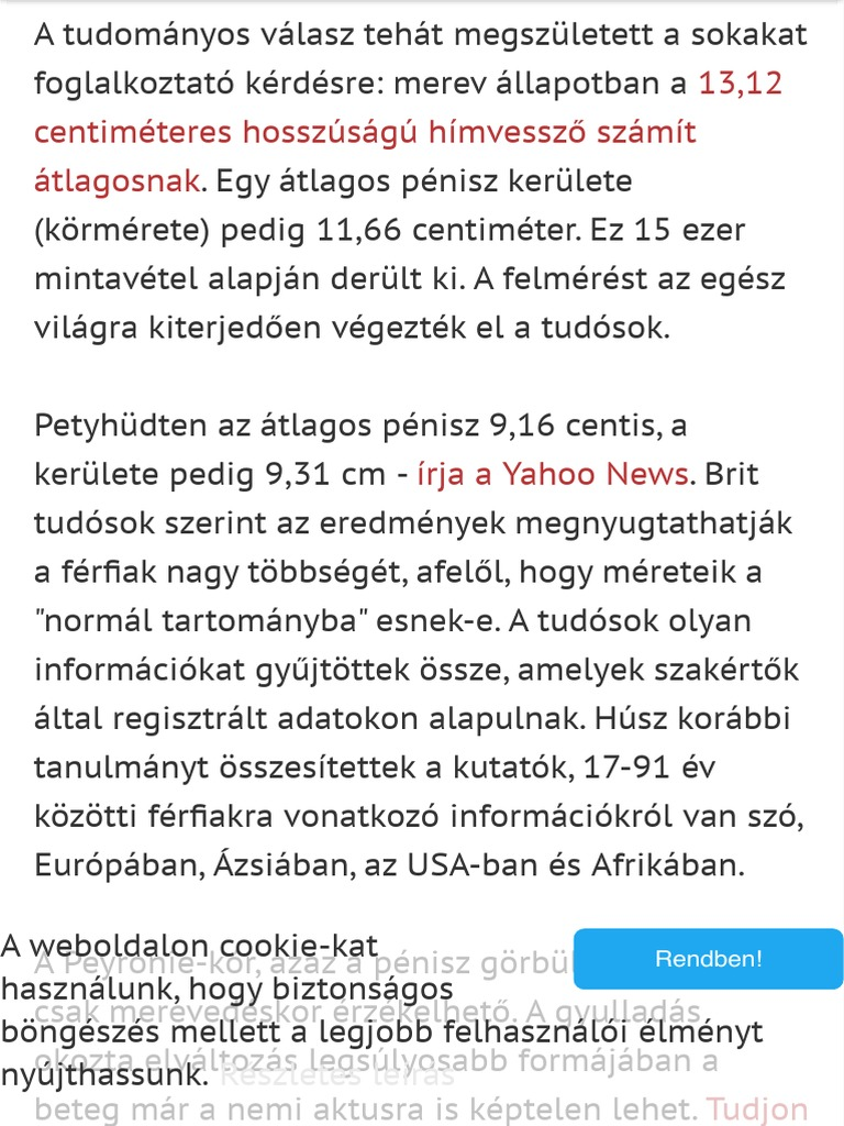 pénisz normál hosszúságú)