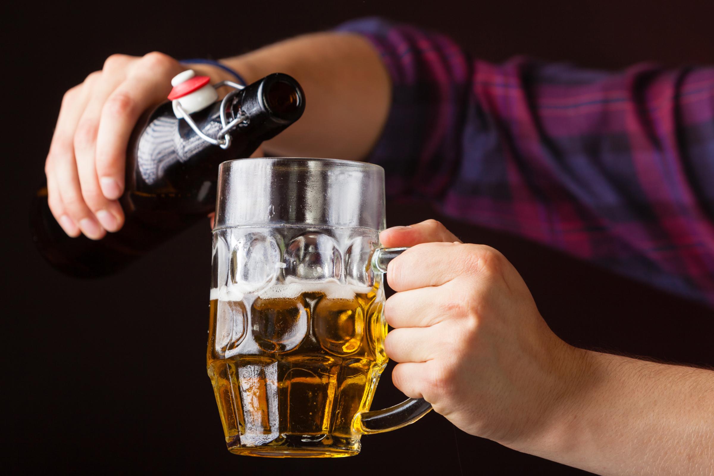 sör és erekció