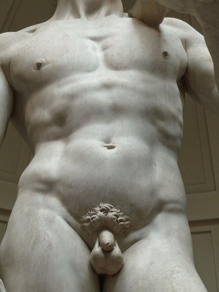férfi pénisz a szobrászatban)